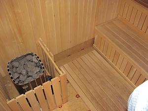 З каміном та сауною в лісовій зоні, 3-кімнатна, 004