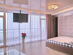 The best apartment in Most City with Jacuzzi and a view of the Dnieper River, Studio, 001