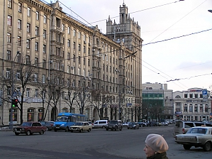 Apartment in the center near Maidan Konstytutsii metro station, Deux chambres, 002