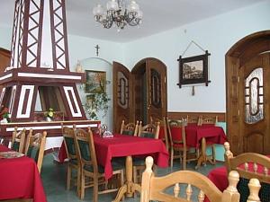 The rooms in a villa in Skhidnytsia, Monolocale, 002
