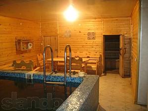 The rooms in a villa in Skhidnytsia, Monolocale, 003