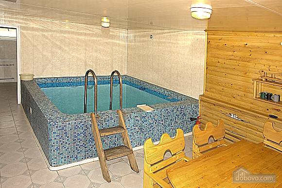 The rooms in a villa in Skhidnytsia, Studio (97930), 009