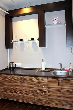 Стильная квартира в центре, 1-комнатная, 004
