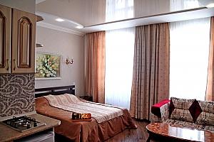 Уютная квартира с WI-FI, 1-комнатная, 001