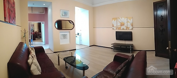 Дерибасовская - 150 метров фасадные окна 2 комнаты, 2х-комнатная (58698), 020