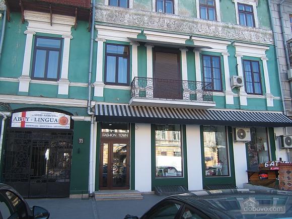 Дерибасовская - 150 метров фасадные окна 2 комнаты, 2х-комнатная (58698), 006