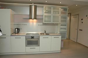 Сімейні апартаменти з однією спальнею, гідромасажною ванною, кухнею та диваном-ліжком, 2-кімнатна, 004