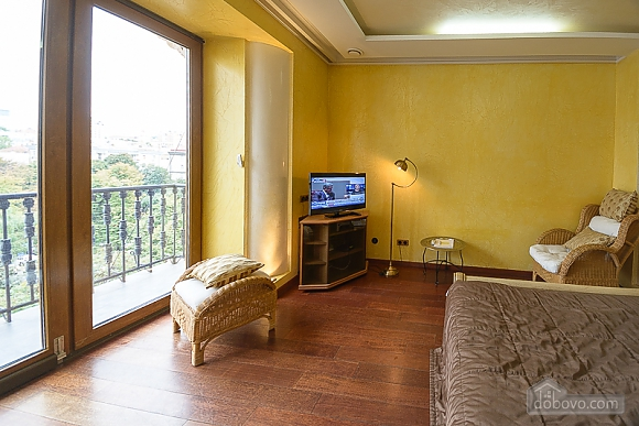 Classic street view original studio apartment with balcony, Studio (37632), 008