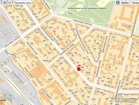 Чудова квартира в центрі міста, 1-кімнатна (93080), 013