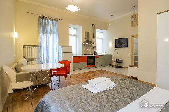 Spaсious studio apartment with balcony and kitchen, Studio (11802), 001