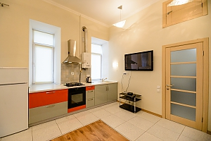 Spaсious studio apartment with balcony and kitchen, Studio, 004