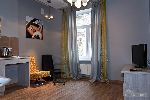 Top floor luxury designed one-bedroom apartment with bath, Un chambre (35439), 009
