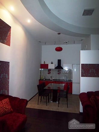 Red and black apartment, Dreizimmerwohnung (80715), 013