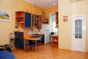 Khreshchatyk studio-apartment, Monolocale, 004
