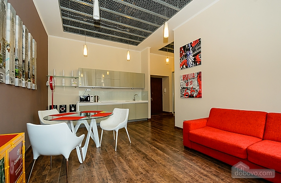 Stylish one-bedroom apartment with large shower and kitchen, Una Camera (61627), 003