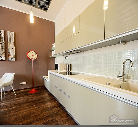 Stylish one-bedroom apartment with large shower and kitchen, Una Camera (61627), 012