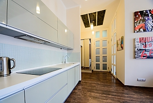 Stylish one-bedroom apartment with large shower and kitchen, One Bedroom, 014