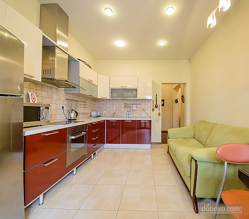 Two-bedroom apartment with two bathrooms and kitchen, Two Bedroom (84143), 007