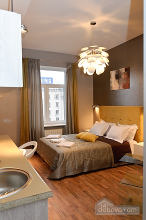 Connected apartments with a glass wall in bathroom in the center of the city, Two Bedroom (58417), 013