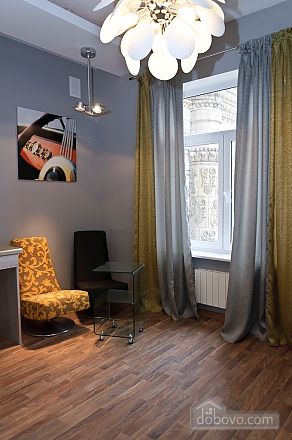Connected apartments with a glass wall in bathroom in the center of the city, Two Bedroom (58417), 028