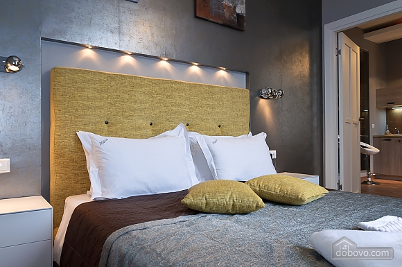 Connected apartments with a glass wall in bathroom in the center of the city, Two Bedroom (58417), 029
