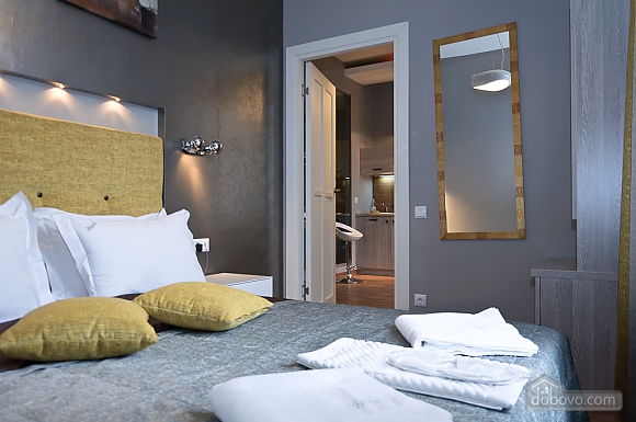 Connected apartments with a glass wall in bathroom in the center of the city, Two Bedroom (58417), 030