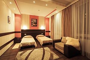 Просторі апартаменти для відпочинку і бізнесу, 1-кімнатна, 001