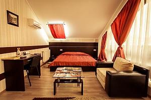 Просторі апартаменти для відпочинку і бізнесу, 1-кімнатна, 003