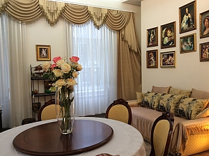 Квартира класу люкс на Дерибасівській, 3-кімнатна, 037