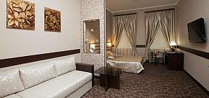 Номер в затишному готелі в центрі, 1-кімнатна, 002