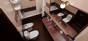 Номер в затишному готелі в центрі, 1-кімнатна, 003