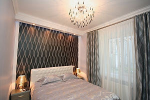 Apartment on Hrecheskaya, Dreizimmerwohnung, 002