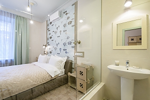 Quiet cozy double room with shower, Studio, 010
