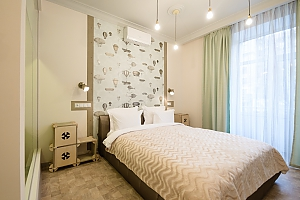 Quiet comfortable double room with shower and balcony, Studio, 002
