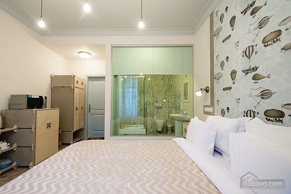 Quiet comfortable double room with shower and balcony, Studio (87137), 008