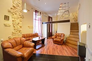 One bedroom apartment on Mykhailivskyi (118), Un chambre, 001