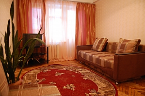 Very nice apartment near Nyvky metro station, Studio, 001