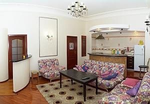 Luxury apartment in the city center, Dreizimmerwohnung, 001