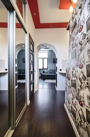 Квартира з дизайнерським ремонтом, 2-кімнатна, 012
