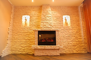 Apartment in the city center with fire place, Deux chambres, 002