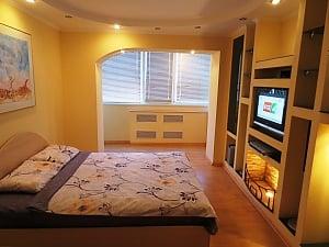 Новая квартира с романтическим интерьером, 1-комнатная, 003