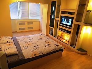 Новая квартира с романтическим интерьером, 1-комнатная, 004