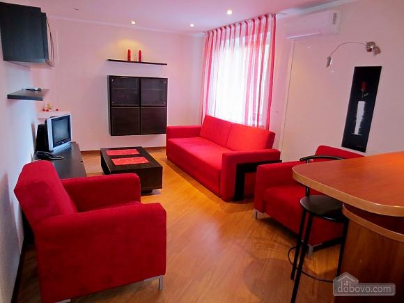 Стильна квартира в центрі, 2-кімнатна (77700), 002