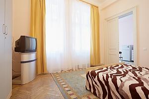 Світла квартира в центрі, 1-кімнатна, 002