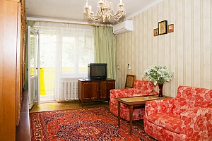 Apartment near the Black Sea, Dreizimmerwohnung, 001