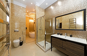 VIP apartment with sauna and Jacuzzi, One Bedroom, 004