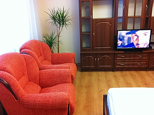Comfortable apartment in a new building near the metro Pozniaky, Monolocale, 003
